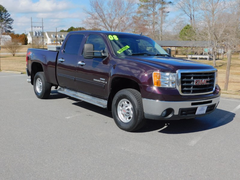 GMC Sierra 2500HD SLT Crew Cab Std. Box 4WD 2008
