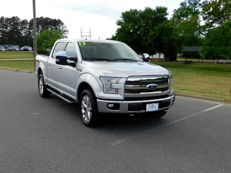 Ford F-150 Lariat SuperCrew 6.5-ft. Bed 4WD 2015