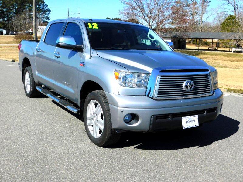 Toyota Tundra Limited 5.7L FFV CrewMax 4WD 2012
