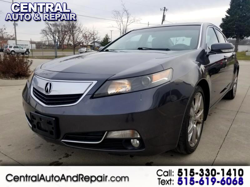 2012 Acura TL 6-Speed AT SH-AWD with Tech Package and HPT