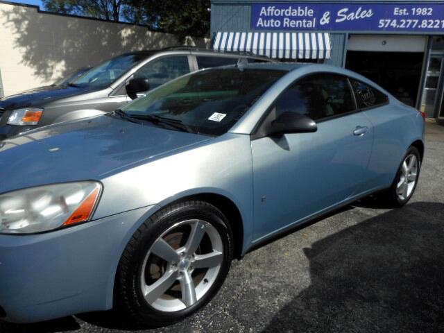 2008 Pontiac G6 GT Coupe