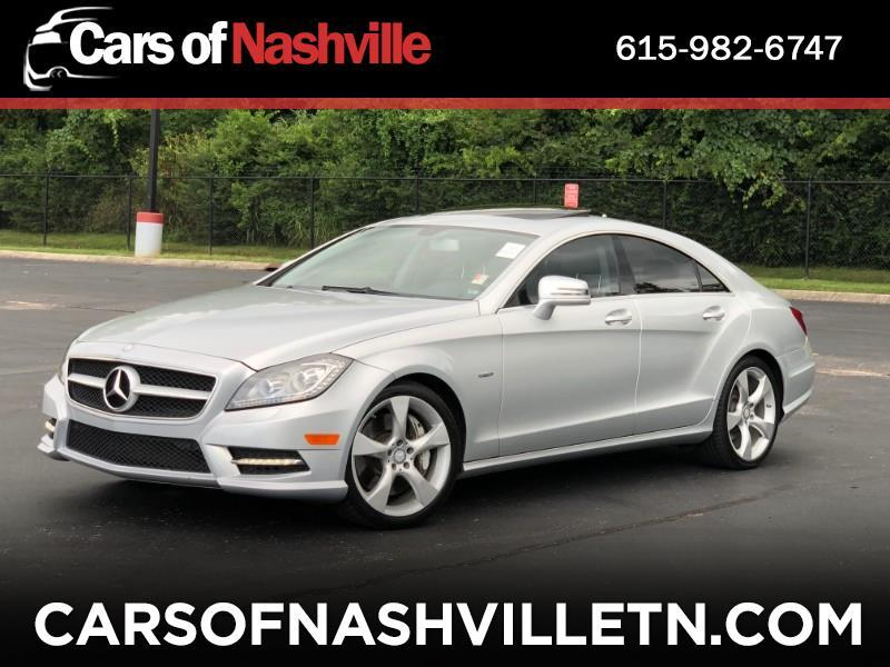 2012 Mercedes-Benz CLS-Class CLS550 4-Door Coupe