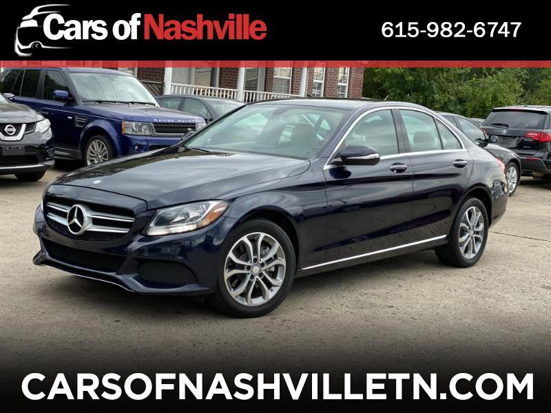 Mercedes-Benz C-Class 4dr Sdn C300 Luxury 4MATIC 2015