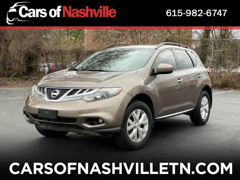 Nissan Murano 2WD 4dr SV 2013