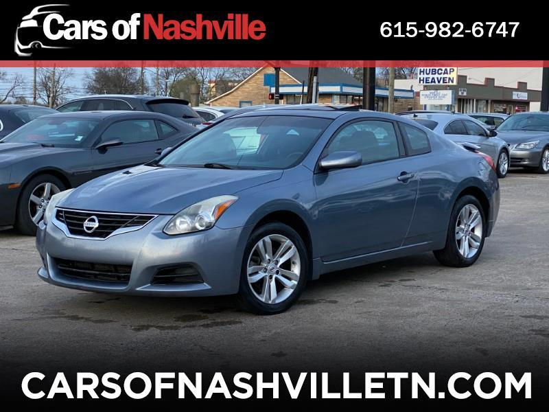 Nissan Altima 2.5 S Coupe 2010