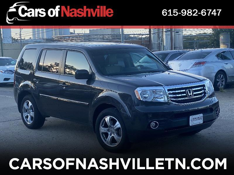 Honda Pilot EX-L 4WD 5-Spd AT with DVD 2012