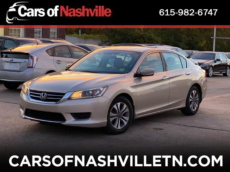 Honda Accord 4dr Sedan LX Auto 2014