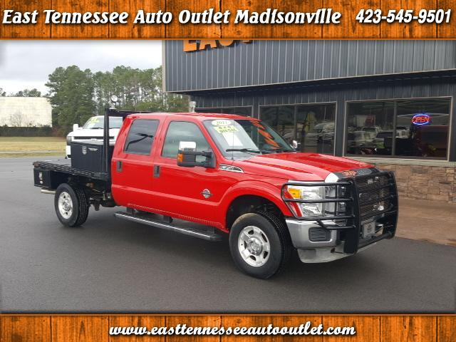 2011 Ford F-350 SD XLT SUPER CREW FLAT BED SRW