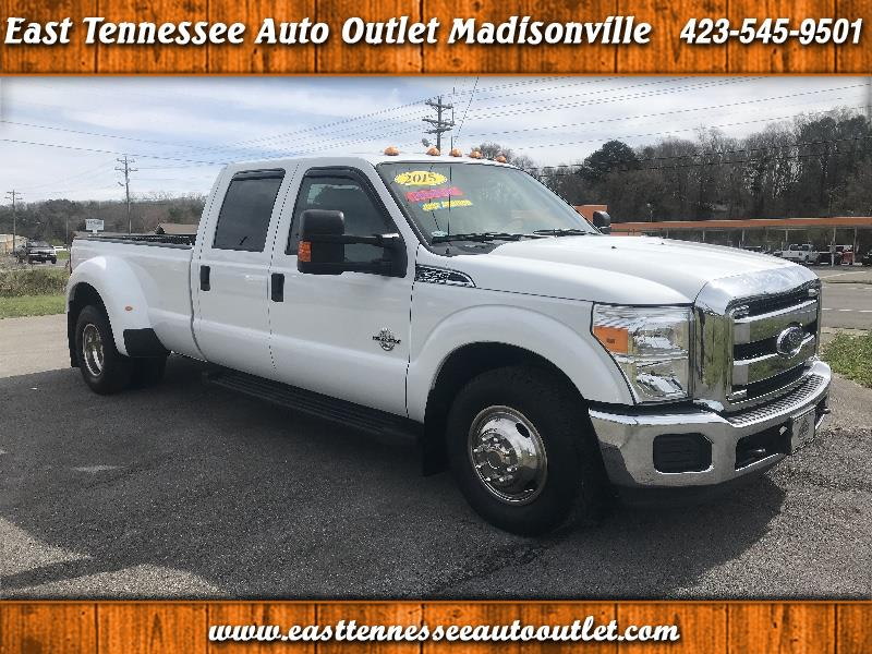 2015 Ford F-350 SD XLT Crew Cab Long Bed DRW 2WD