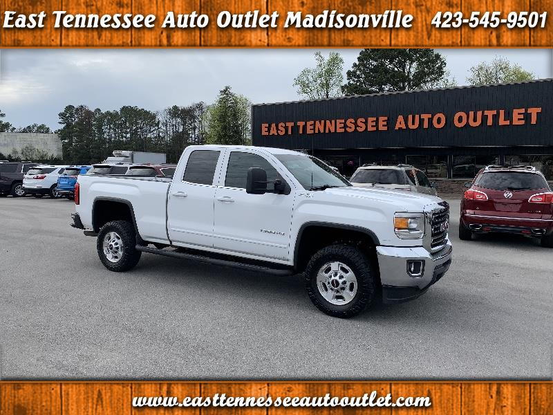 GMC Sierra 2500HD SLE Double Cab 4WD 2015