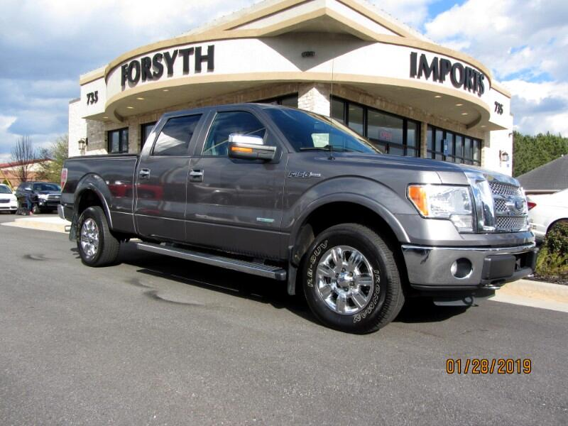 2012 Ford F-150 Lariat 4WD SuperCab 6.5' Box