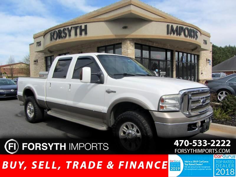 2007 Ford F-250 SD King Ranch 4WD