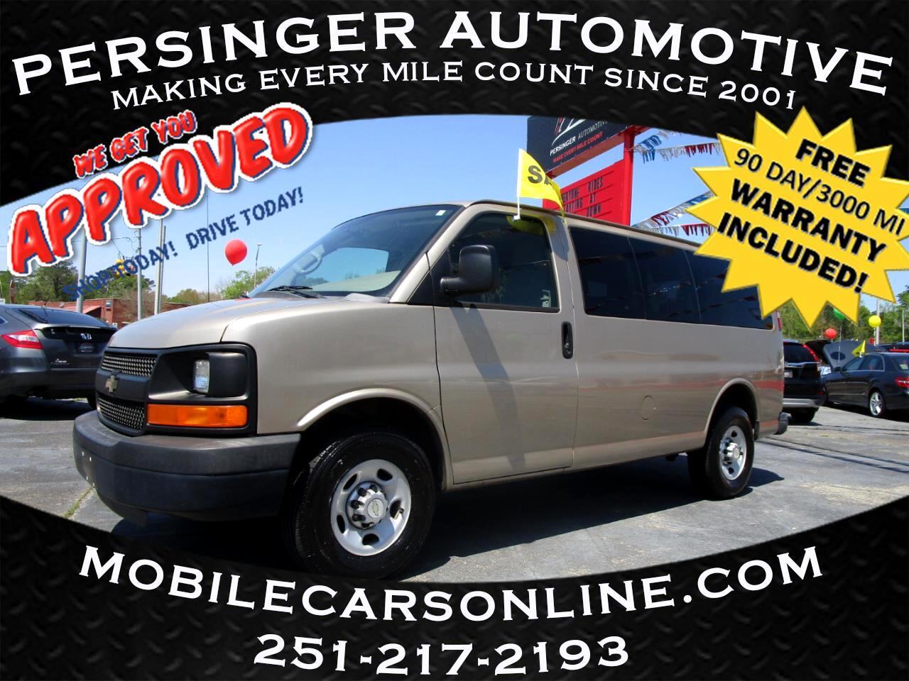 "Chevrolet Express Passenger RWD 2500 135"" 1LS 2012"