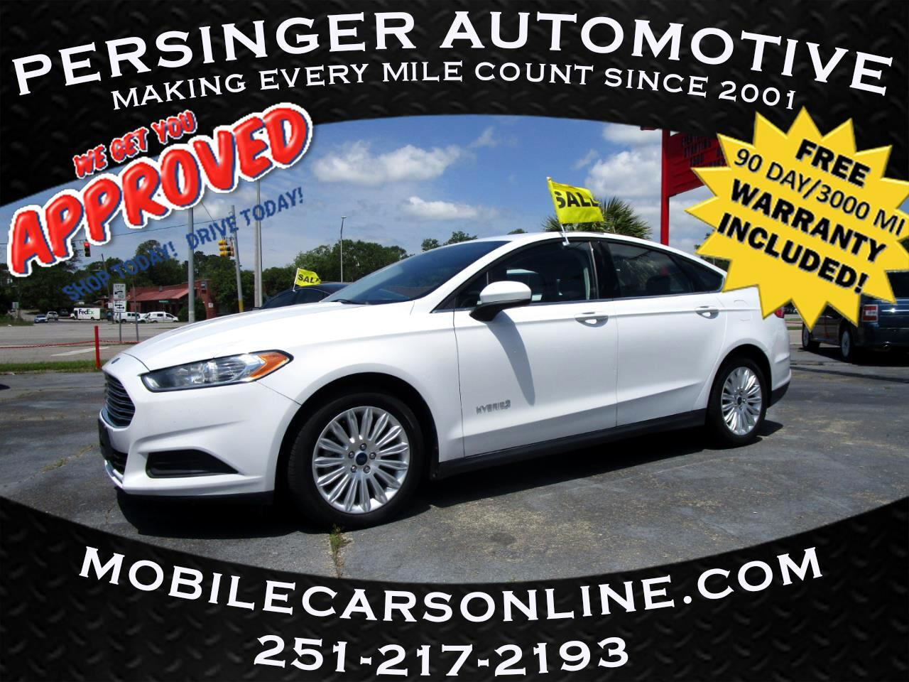 Ford Fusion 4dr Sdn S Hybrid FWD 2014