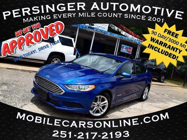 Ford Fusion Hybrid S FWD 2018