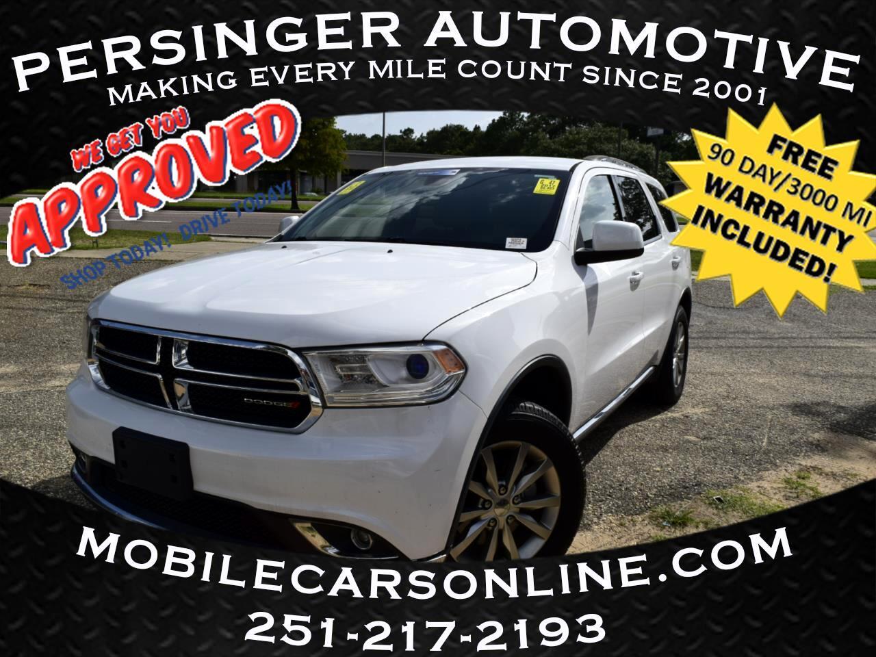Dodge Durango SXT AWD 2017