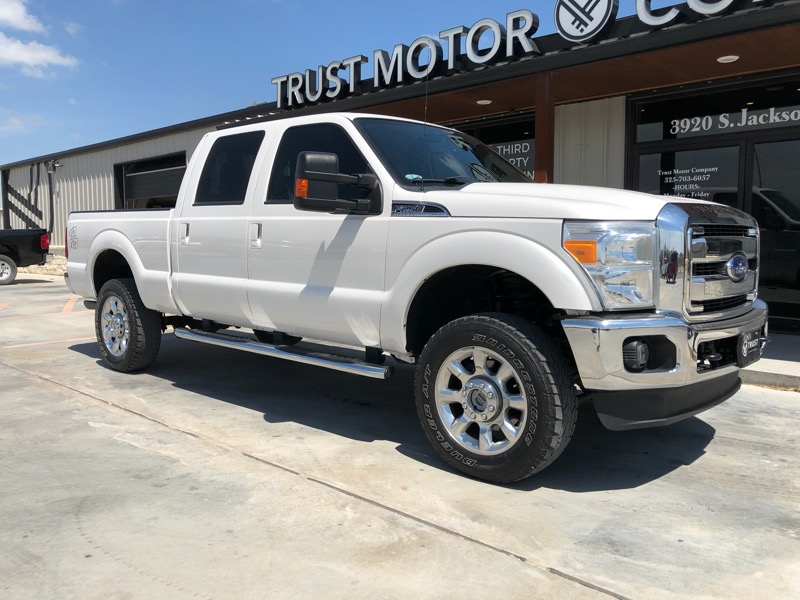 2013 Ford F-250 SD Lariat SuperCab Short Bed 4WD