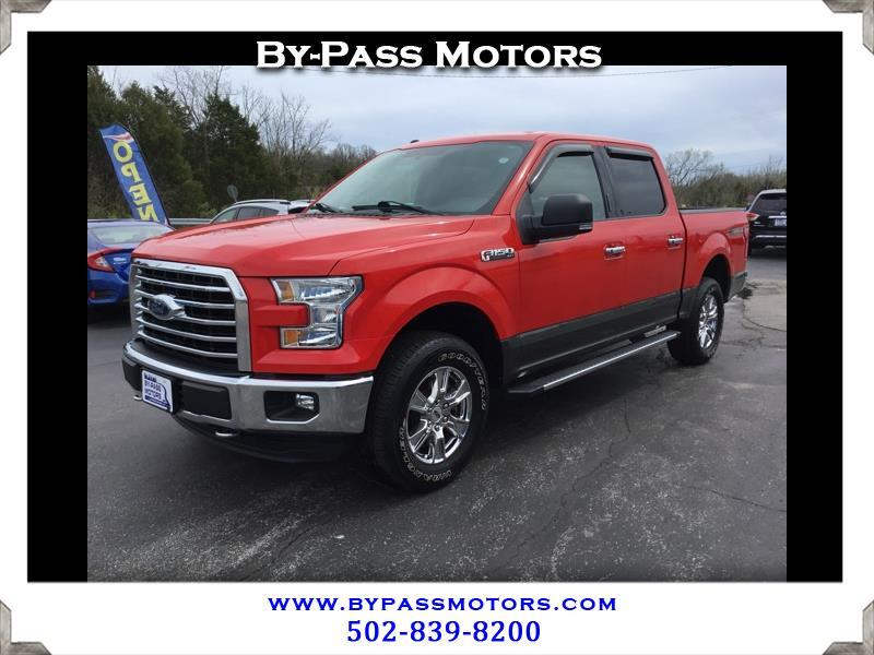 2016 Ford F-150 XLT SuperCrew 5.5-ft. Bed 4WD
