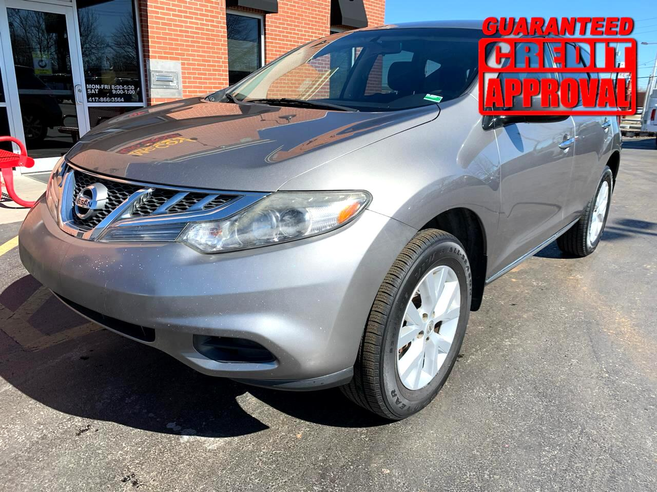 Nissan Murano 2WD 4dr S 2012