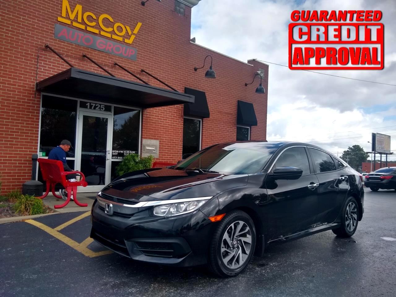 Honda Civic Sedan EX CVT 2017
