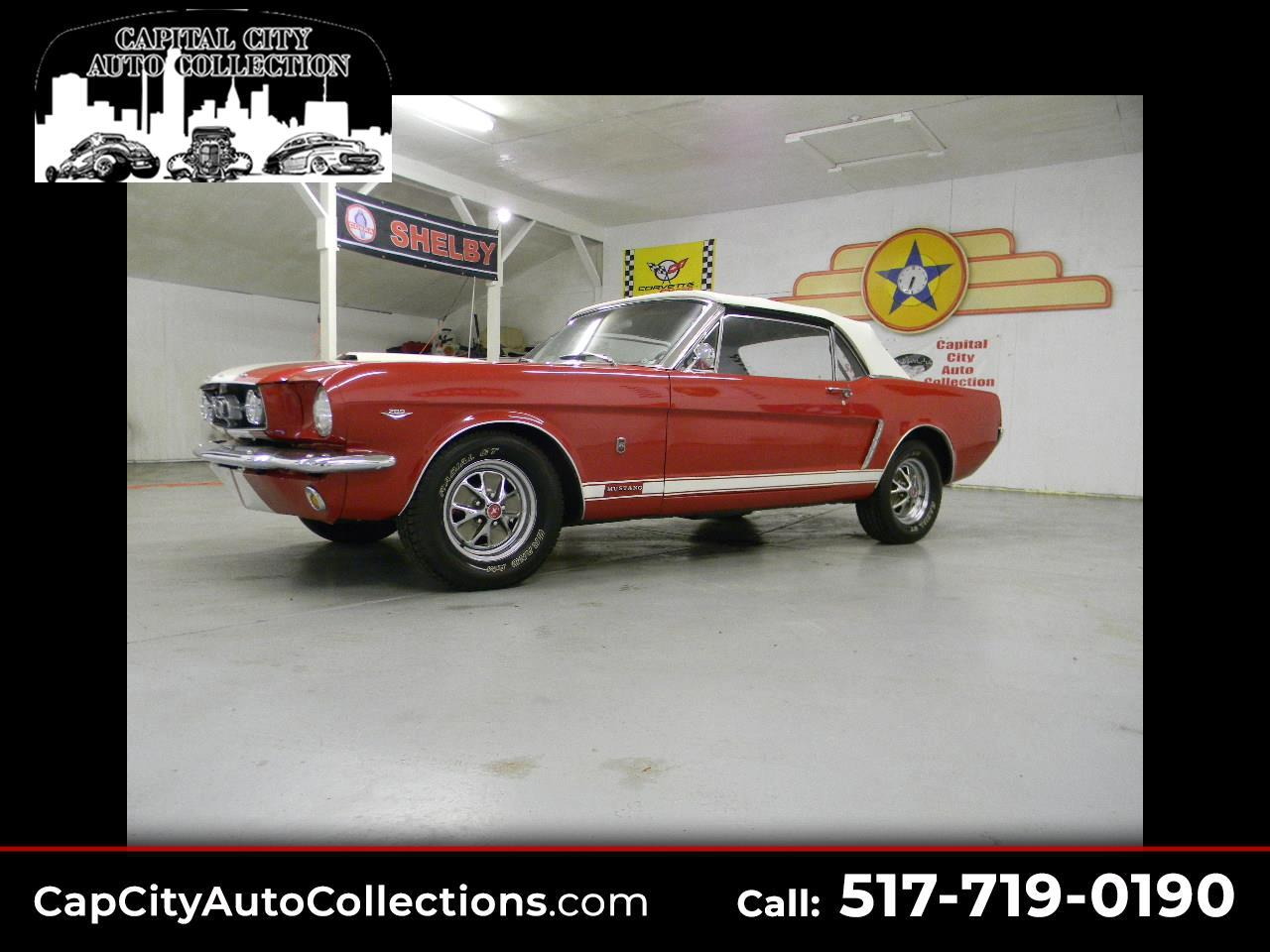 Ford Mustang GT Convertible  1965