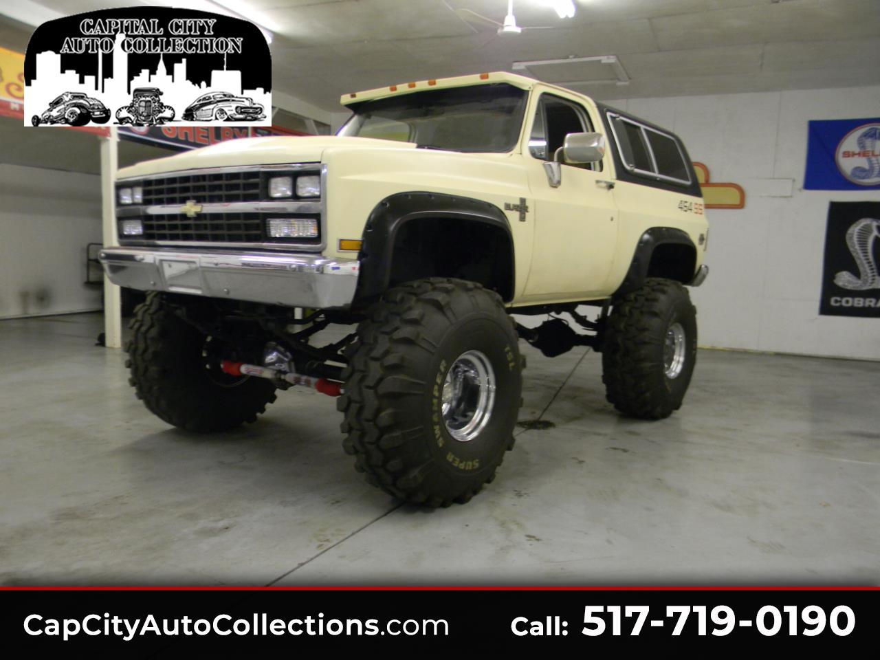 Chevrolet C/K 10 Blazer 4WD 1986