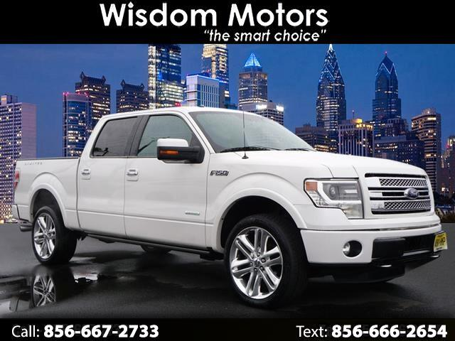 "2014 Ford F-150 4WD SuperCrew 145"" Platinum"