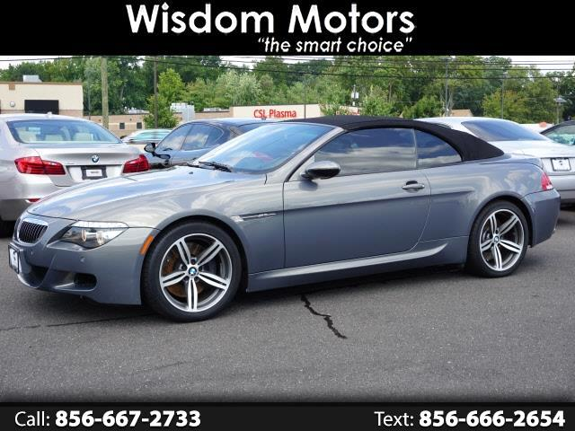 BMW 6 Series 2dr Conv M6 2008