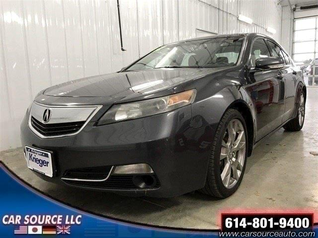 2012 Acura TL SH-AWD Advance Package