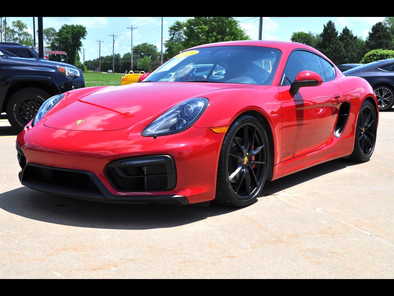 2015 Porsche Cayman 2dr Cpe GTS