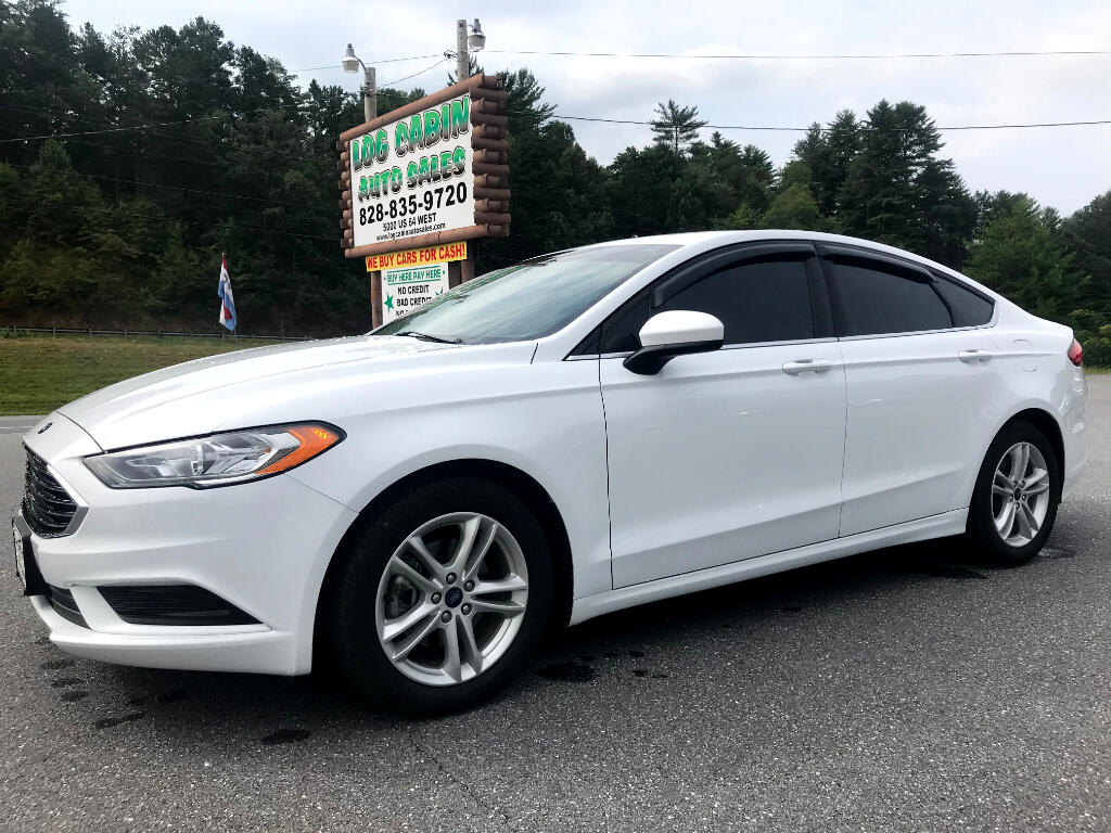 2018 Ford Fusion 4dr Sdn SE AWD