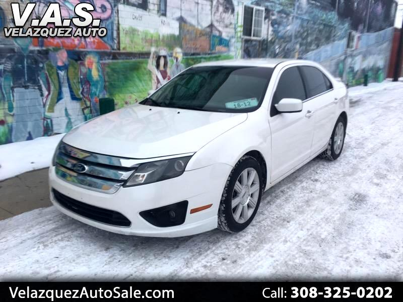 2012 Ford Fusion 4dr Sdn I4 SEL