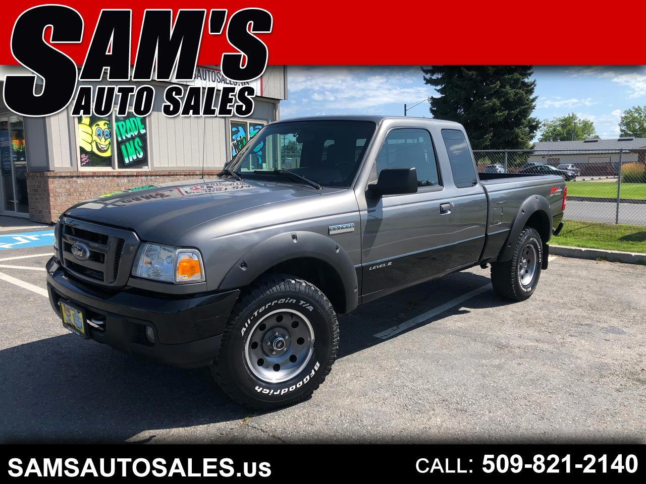 "2007 Ford Ranger 4dr Supercab 126"" WB FX4 Lvl II 4WD"