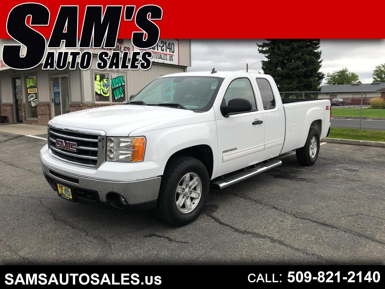 2012 GMC Sierra 1500 SLE Ext. Cab Long Bed 4WD