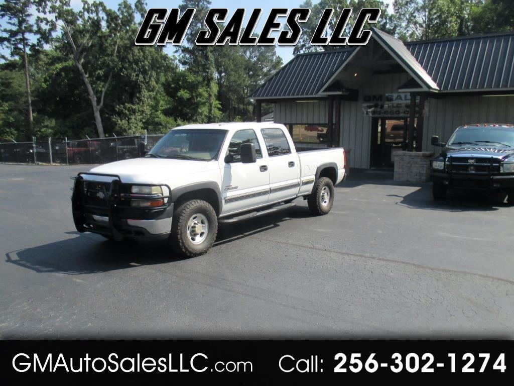 "2002 Chevrolet Silverado 2500HD Crew Cab 153"" WB 4WD LT"