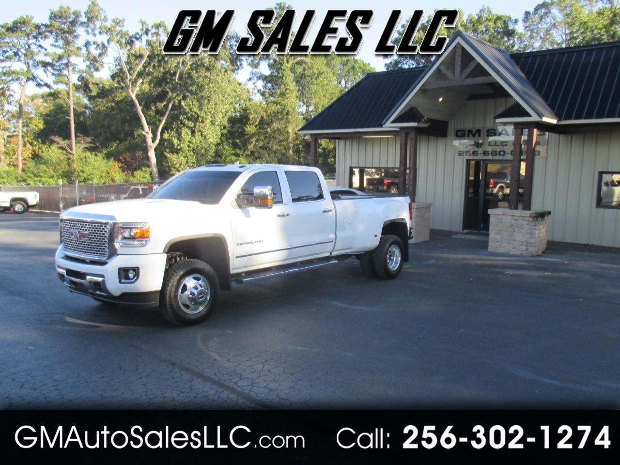 "2015 GMC Sierra 3500HD available WiFi 4WD Crew Cab 167.7"" Denali"