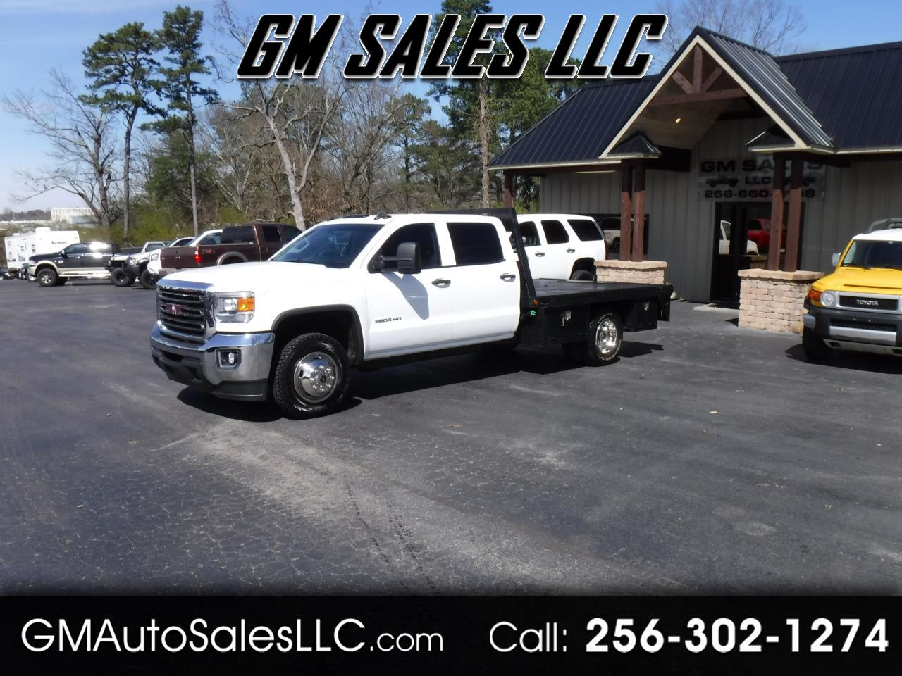 "2015 GMC Sierra 3500HD available WiFi 4WD Crew Cab 171.5"" WB, 59.06"" CA"