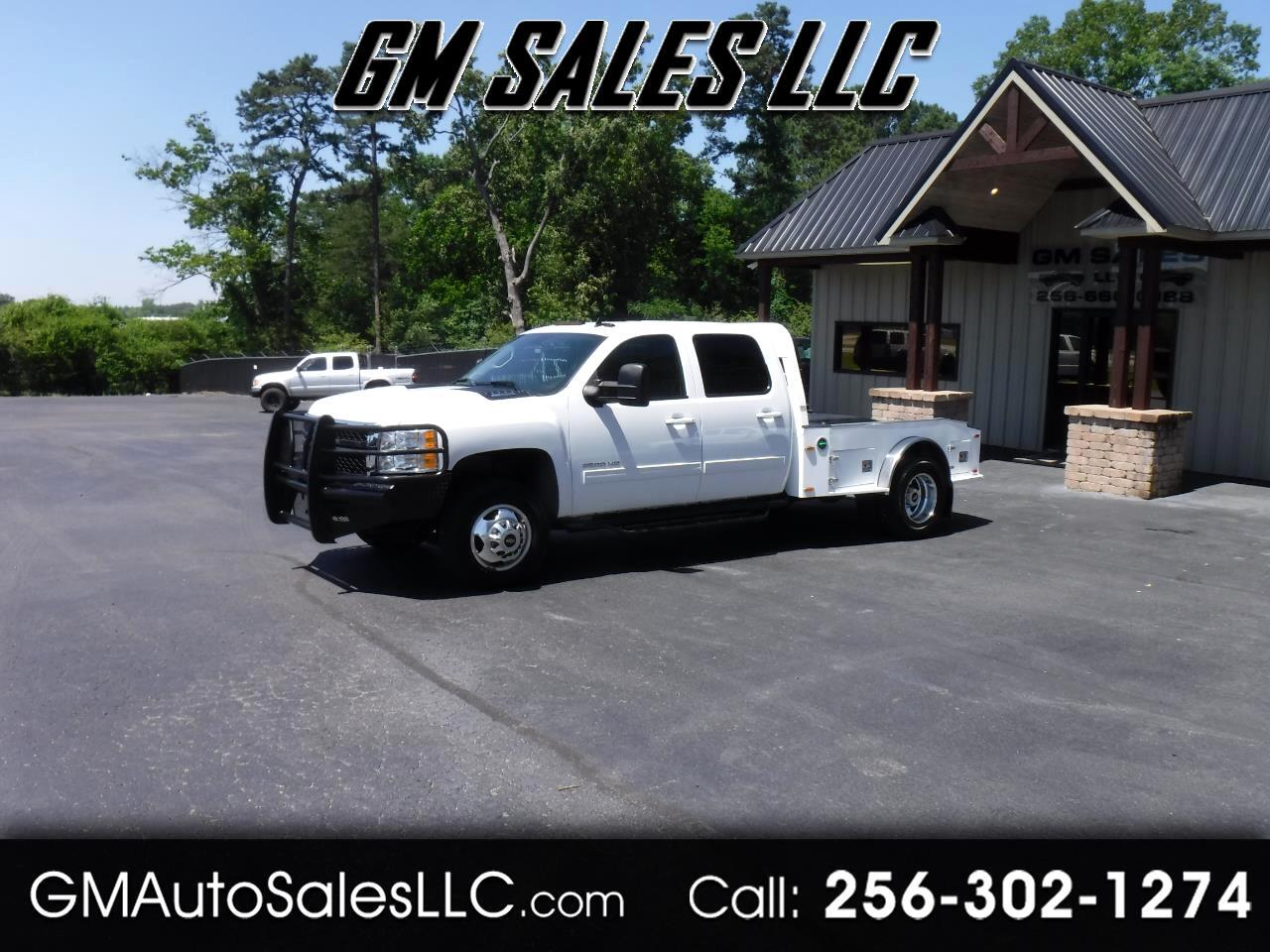 """2012 Chevrolet Silverado 3500HD 4WD Crew Cab 167.7"""" LTZ"""