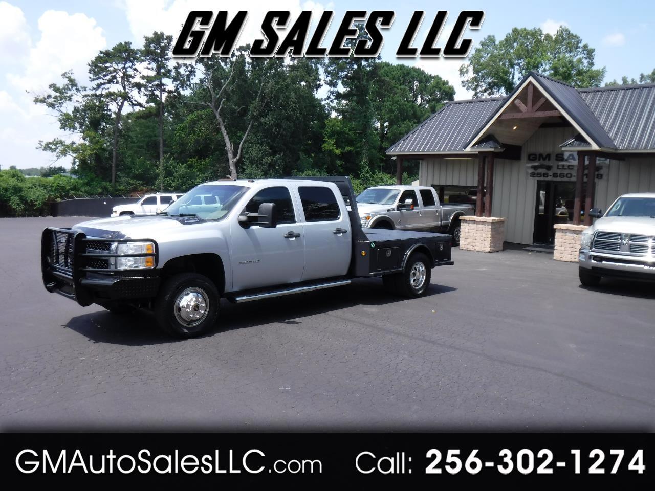 "2013 Chevrolet Silverado 3500HD 4WD Crew Cab 167.7"" Work Truck"