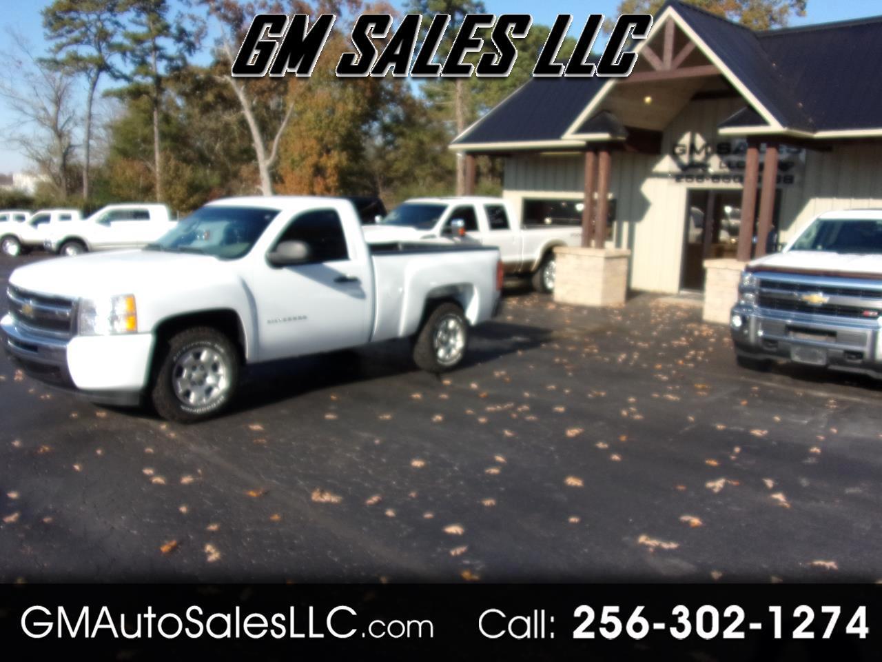 """Chevrolet Silverado 1500 4WD Reg Cab 119.0"""" Work Truck 2010"""
