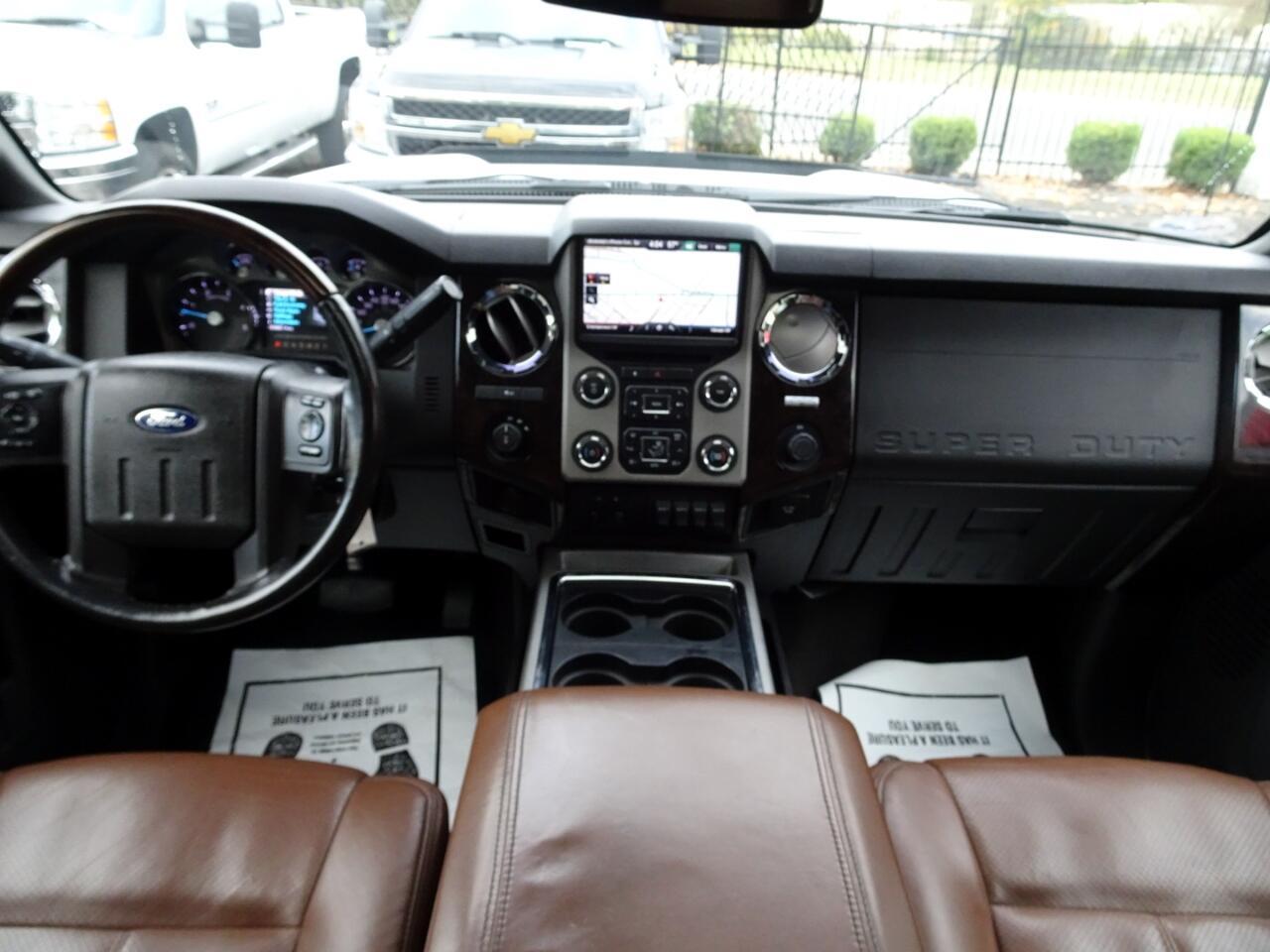 2013 Ford F-250 SD Platinum Supercrew 4WD