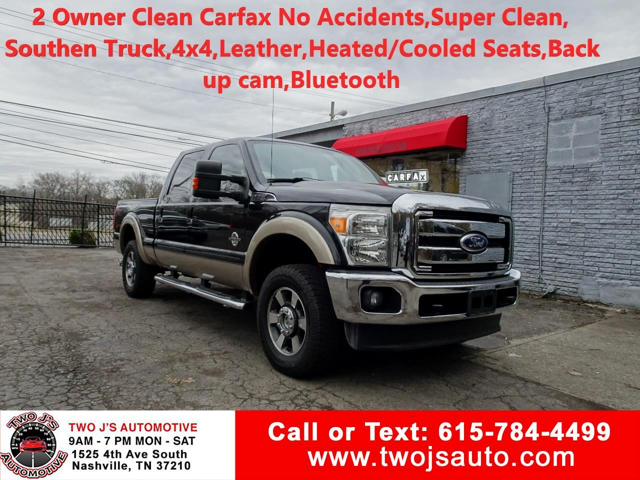 2011 Ford F-250 SD Lariat SuperCrew 4WD