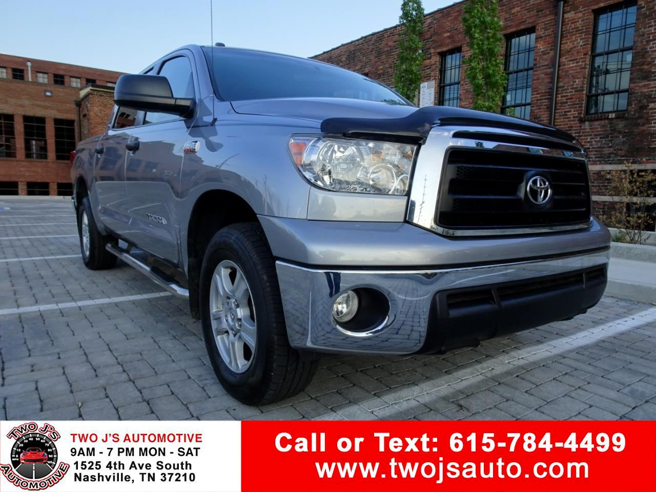 2010 Toyota Tundra 4WD Truck CrewMax 5.7L V8 6-Spd AT (Natl)