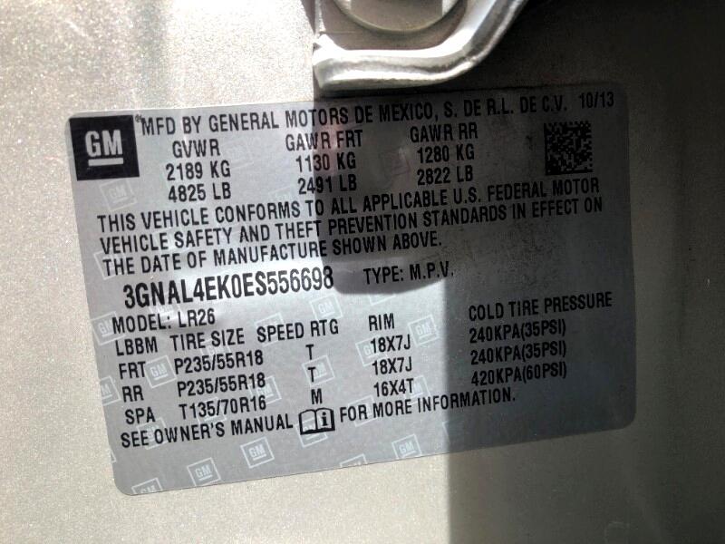 2014 Chevrolet Captiva Sport LTZ FWD