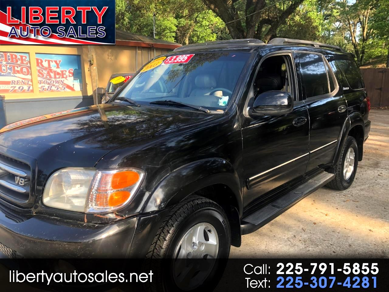 Toyota Sequoia 4dr Limited (Natl) 2002