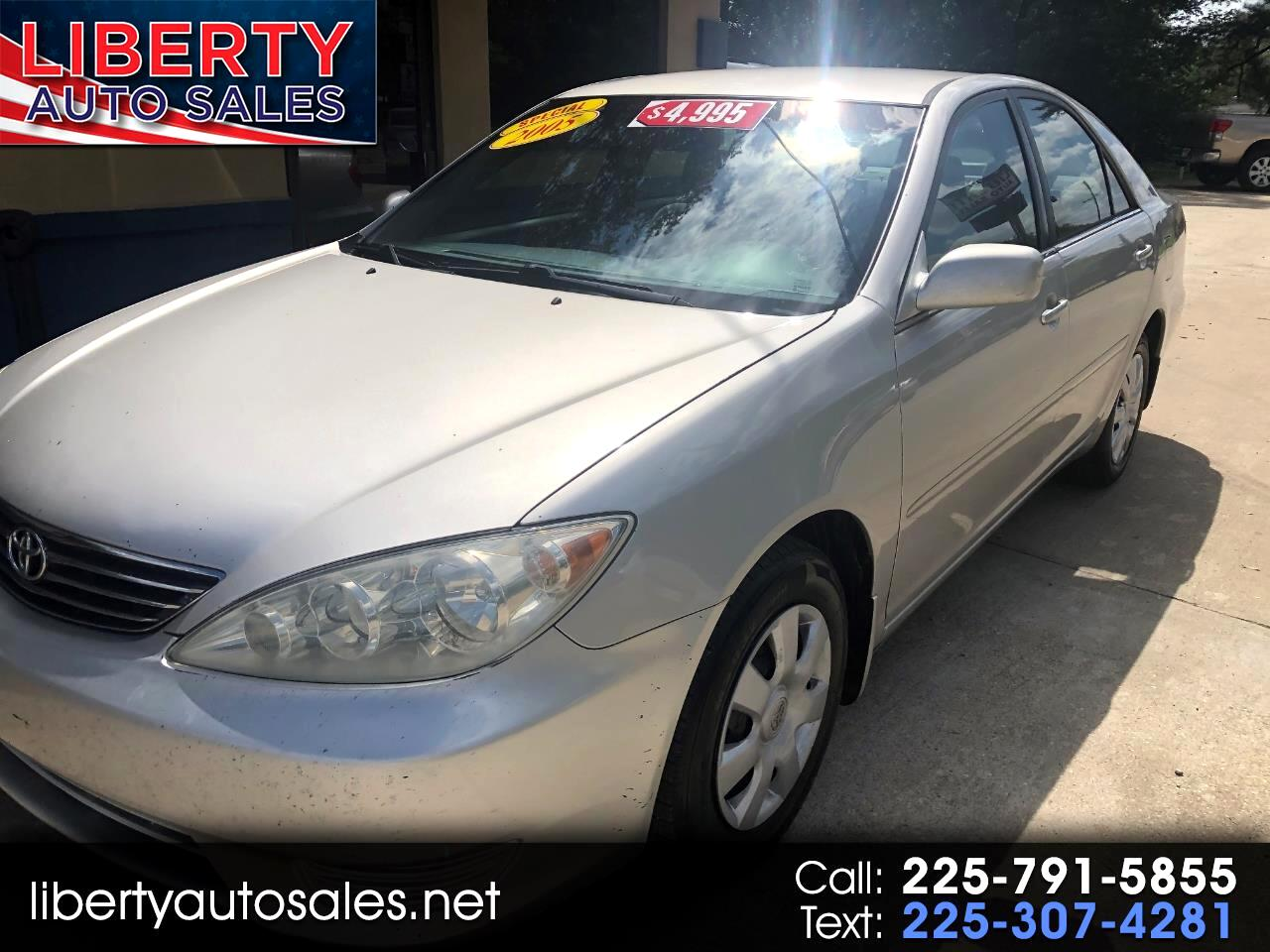 Toyota Camry 4dr Sdn LE Auto (Natl) 2005
