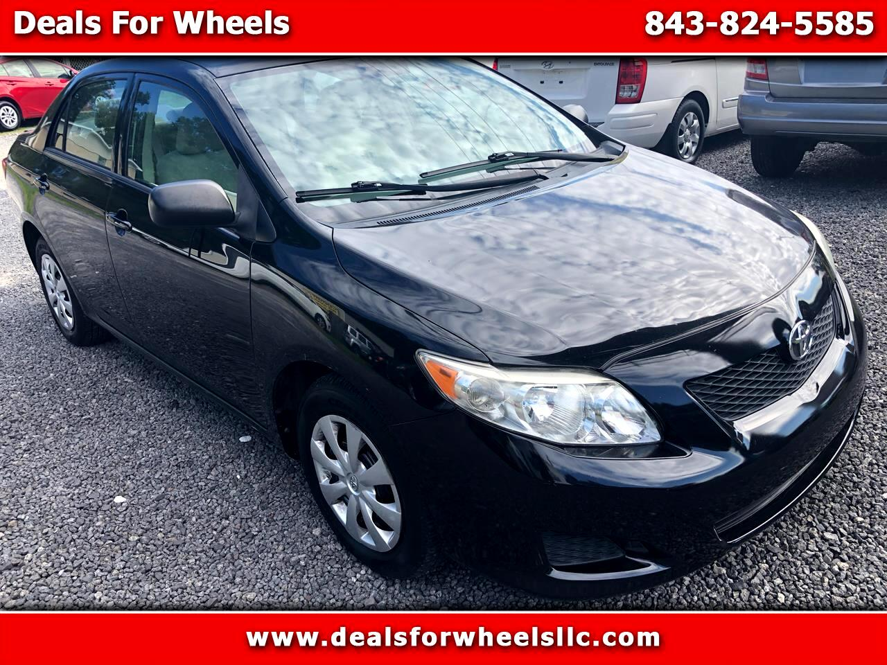 Toyota Corolla 4dr Sedan Base Manual 2009