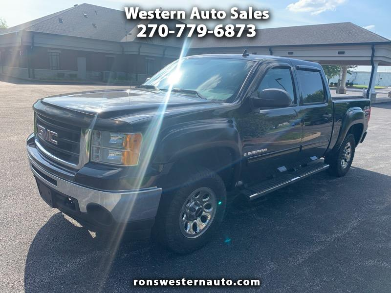 Western Auto Sales >> Used 2009 Gmc Sierra 1500 Crew Cab For Sale In Bowling Green