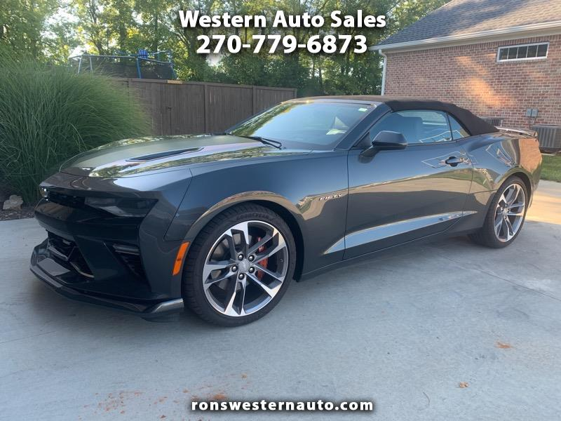Ss Best Auto Sales >> Used 2017 Chevrolet Camaro 2dr Conv Ss W 2ss For Sale In