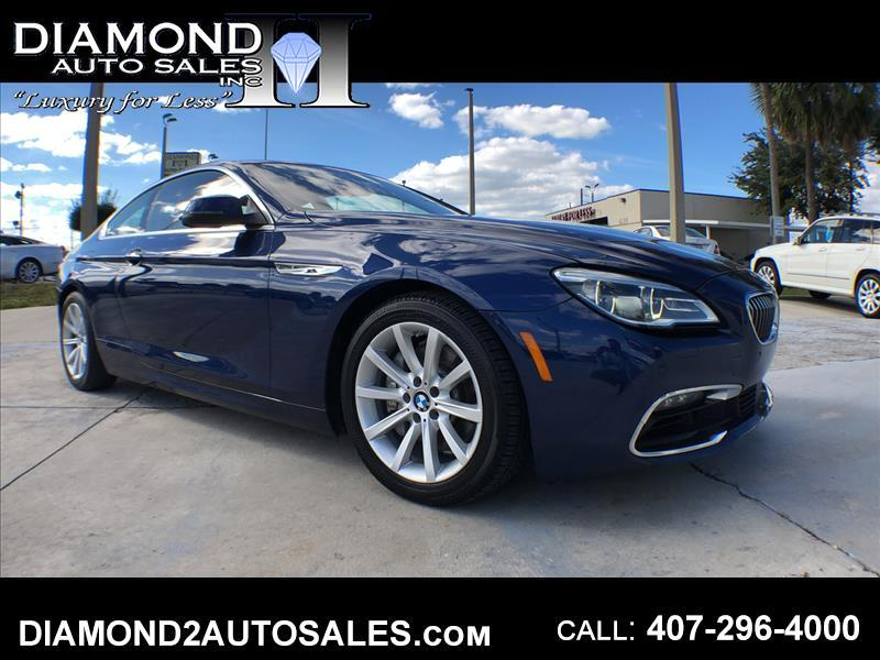 2016 BMW 6-Series 640i xDrive Coupe